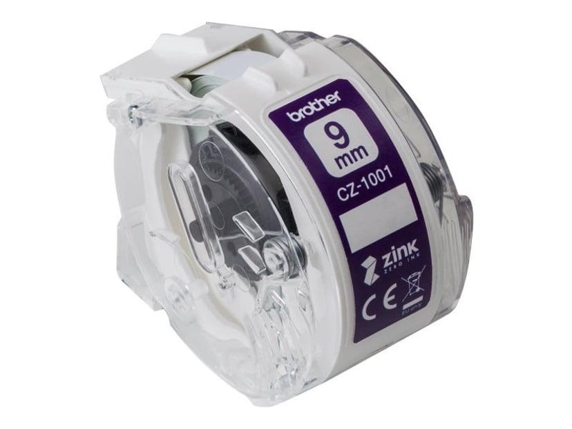 Brother Etikett/Färgband 9mm CZ-1001 - VC-500W
