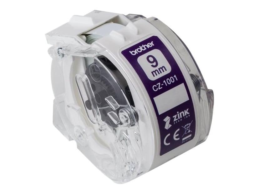 Brother Etikett/Fargebånd 9mm CZ-1001 - VC-500W