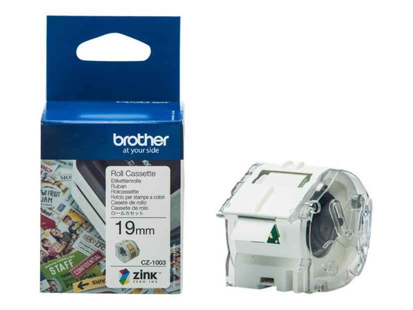 Brother Etikett/Fargebånd 19mm CZ-1003 - VC-500W