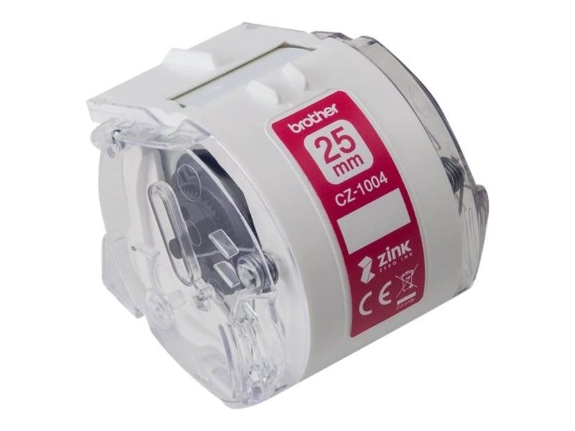 Brother Etikett/Färgband 25mm CZ-1004 - VC-500W