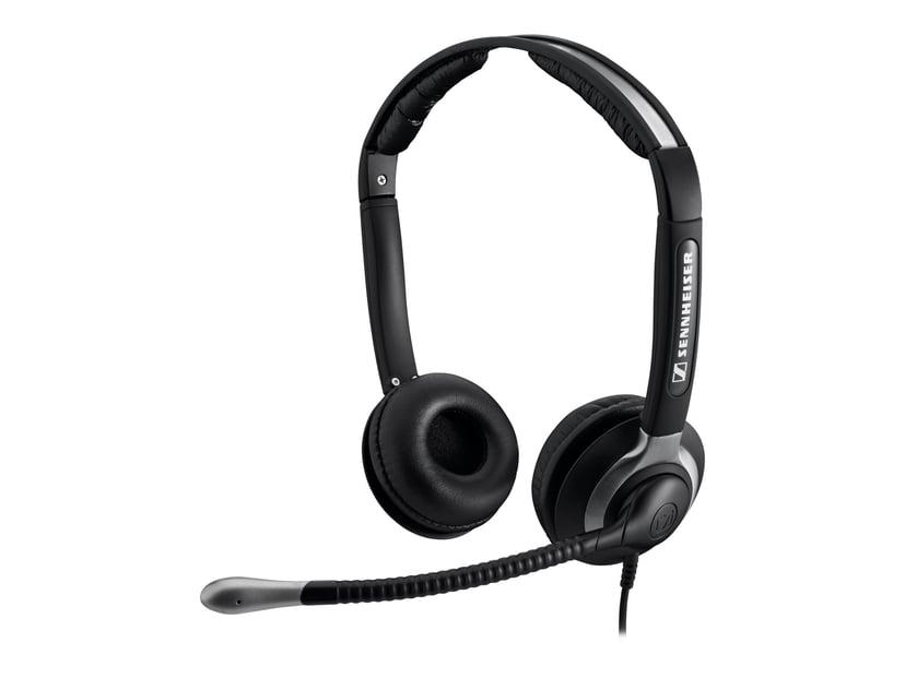 EPOS | SENNHEISER CC550 Headset Easy Disconnect Svart, Sølv