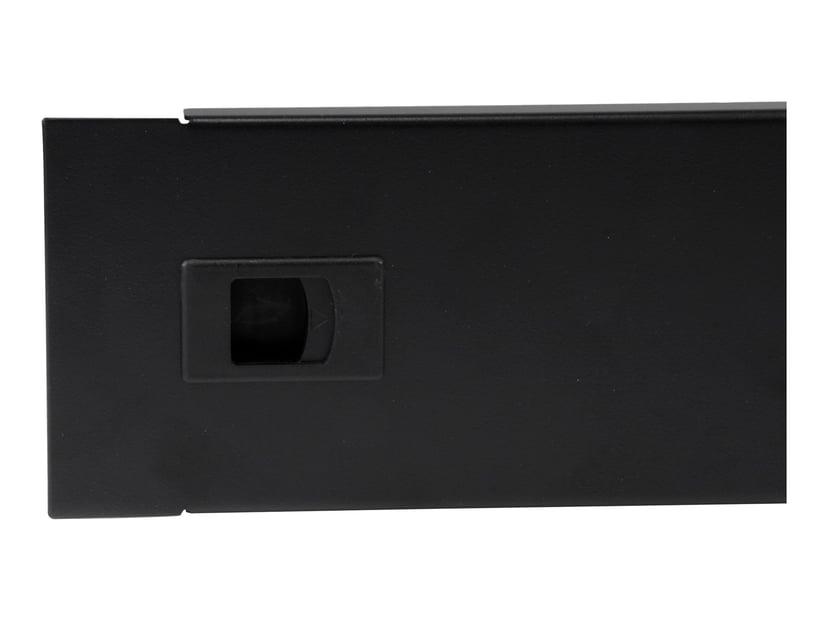Startech 2U Hinged Solid Blank Rack Panel