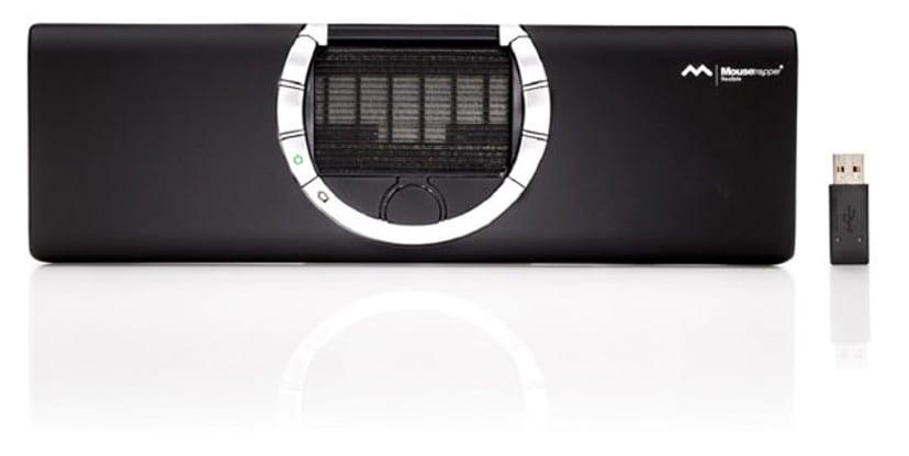 Mousetrapper Flexible 1,500dpi Mousetrapper-kontrolmåtte Trådløs Sort