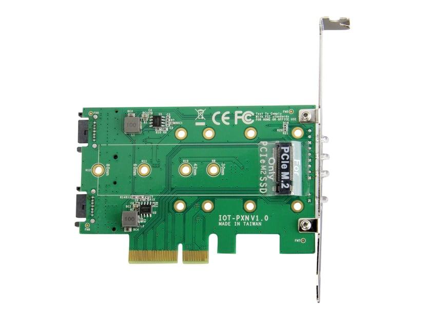 Startech 3PT M.2 SSD Adapter Card