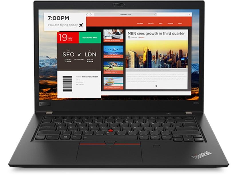 "Lenovo ThinkPad T480s Core i7 16GB 512GB SSD Oppgraderbar til WWAN 14"""