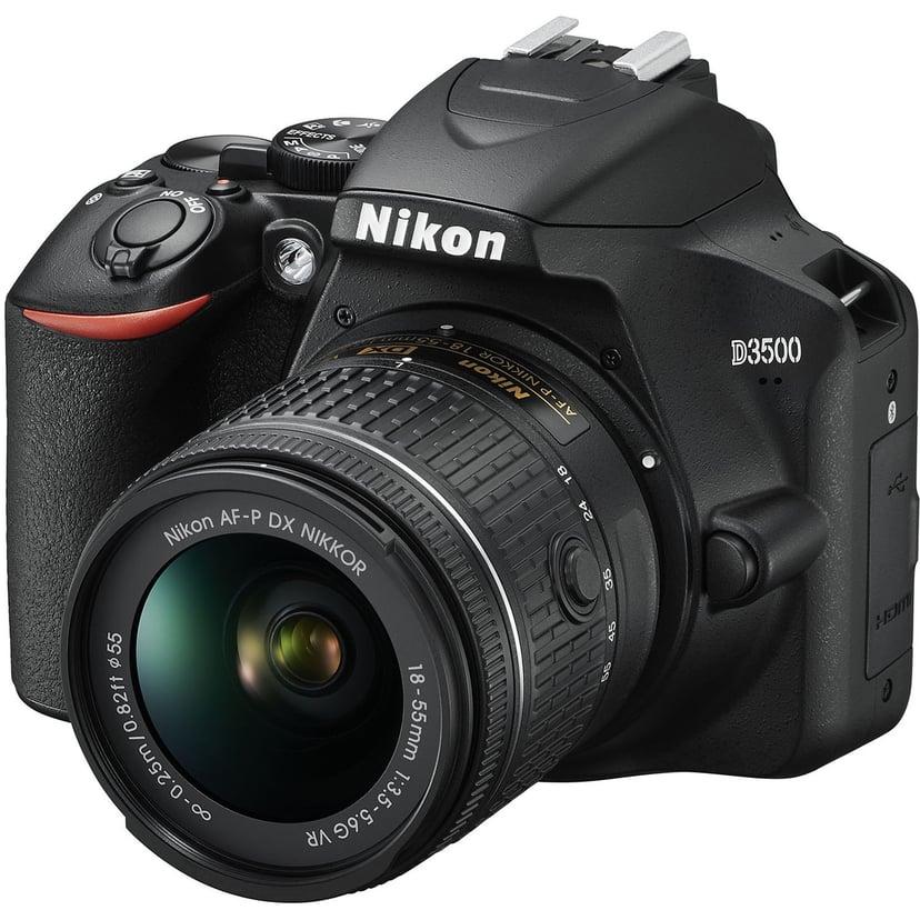Nikon D3500 + AF-P DX 18-55 f/3,5-5,6G VR