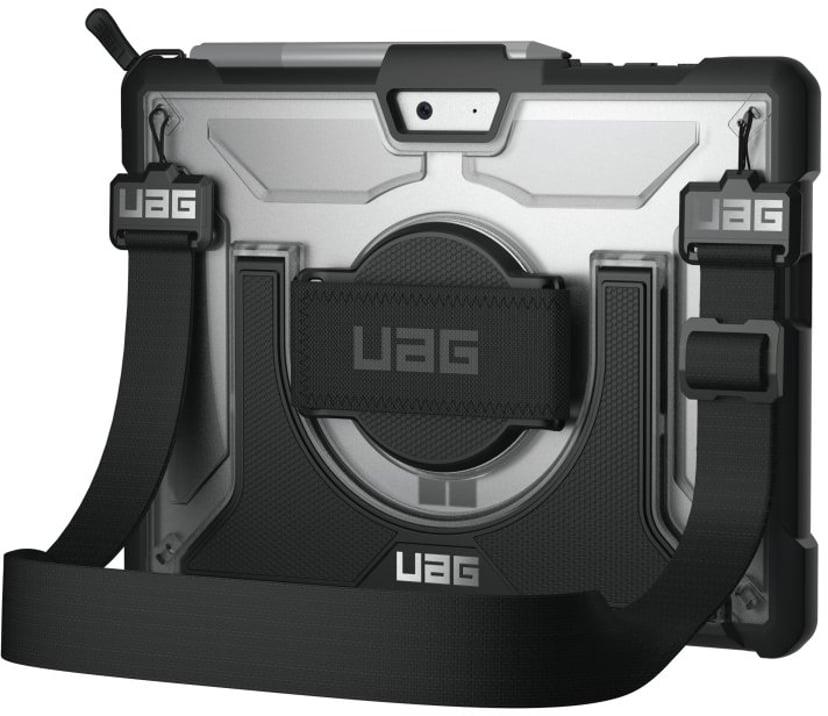 Urban Armor Gear UAG Plasma Case + Shoulder Strap Microsoft Surface Go Zilver, Zwart
