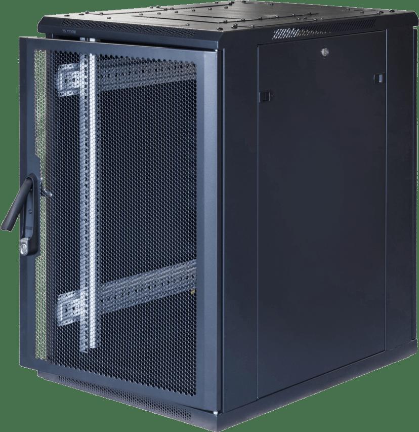 """Toten G3 19"""" Floor Cabinet 18U 600X800 Perforated Door"""