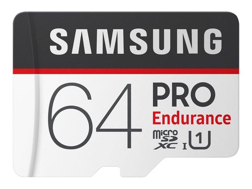 Samsung PRO Endurance MB-MJ64GA 64GB microSDXC UHS-I-geheugenkaart