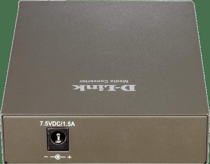 D-Link DMC-515SC Valokuitu-mediamuunnin RJ-45 SC single-mode