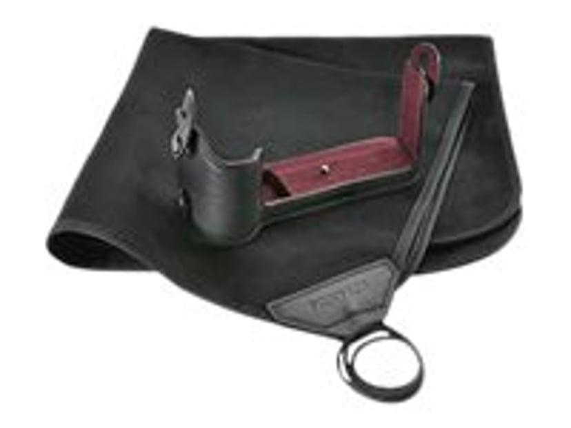 Fujifilm X-T3 Leather Half Case Svart