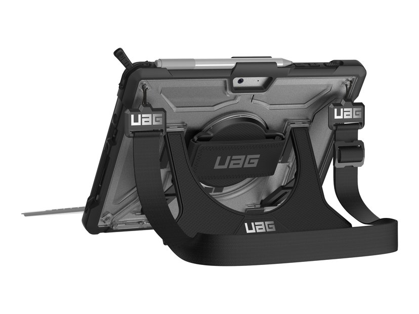 Urban Armor Gear UAG Plasma Case + Shoulder Strap Zilver, Zwart Microsoft Surface Go