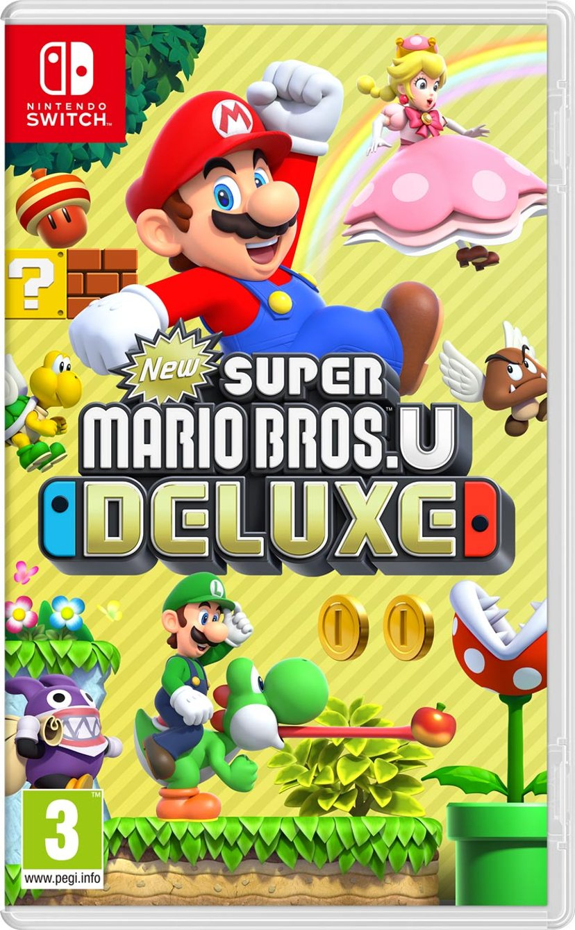 Nintendo New Super Mario Bros. U Deluxe Nintendo Switch
