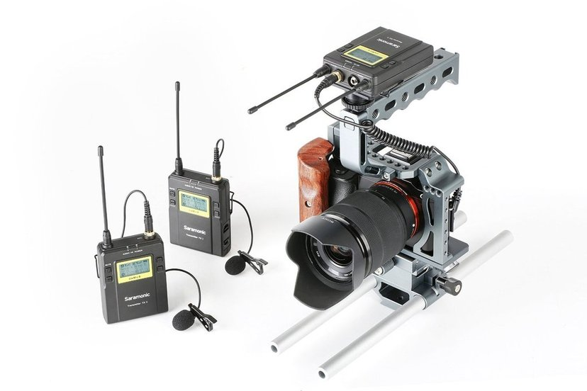 Saramonic Uhf Wireless Uvmic9 Package X2 Uwmic9 2Xtx9+Rx9