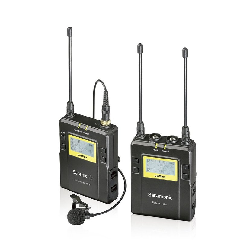 Saramonic Uhf Wireless Uwmic9 Package X1 Uwmic9 Tx9+Rx9