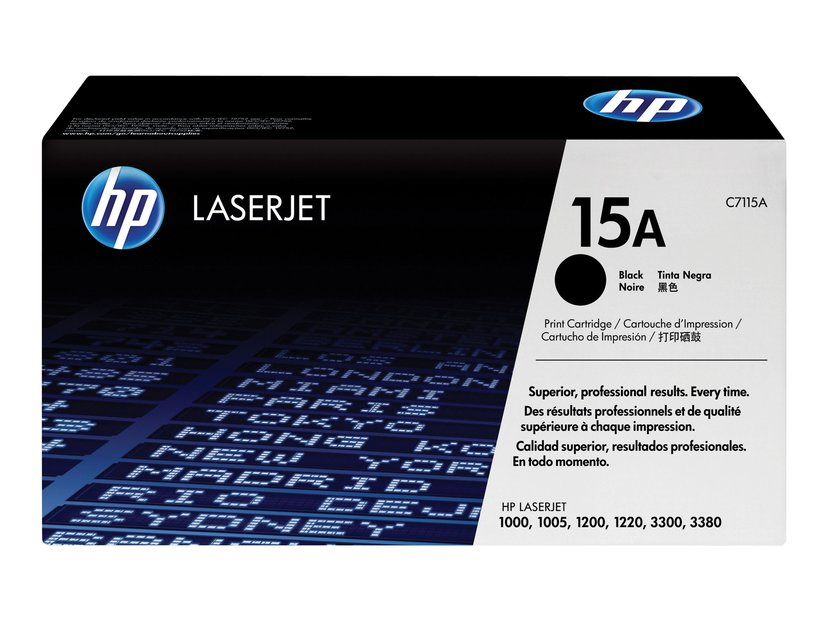 HP Toner Svart 2.5K - C7115A
