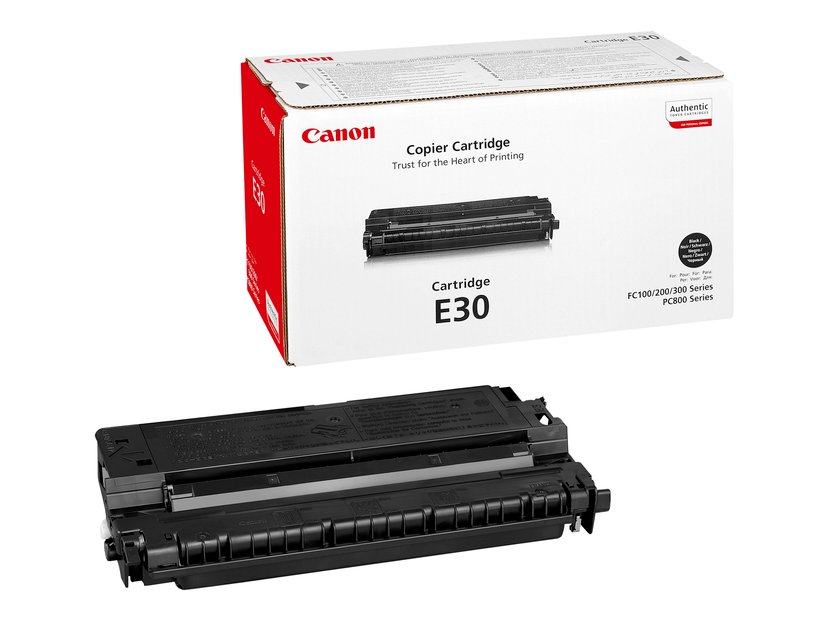 Canon Värikasetti Musta E30 - FC2XX/3XX/530 PC7XX/8XX