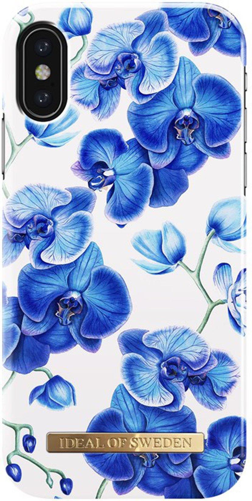 iDeal of Sweden Ideal Fashion Baksidedeksel For Mobiltelefon iPhone X; iPhone Xs Babyblå orkidéer