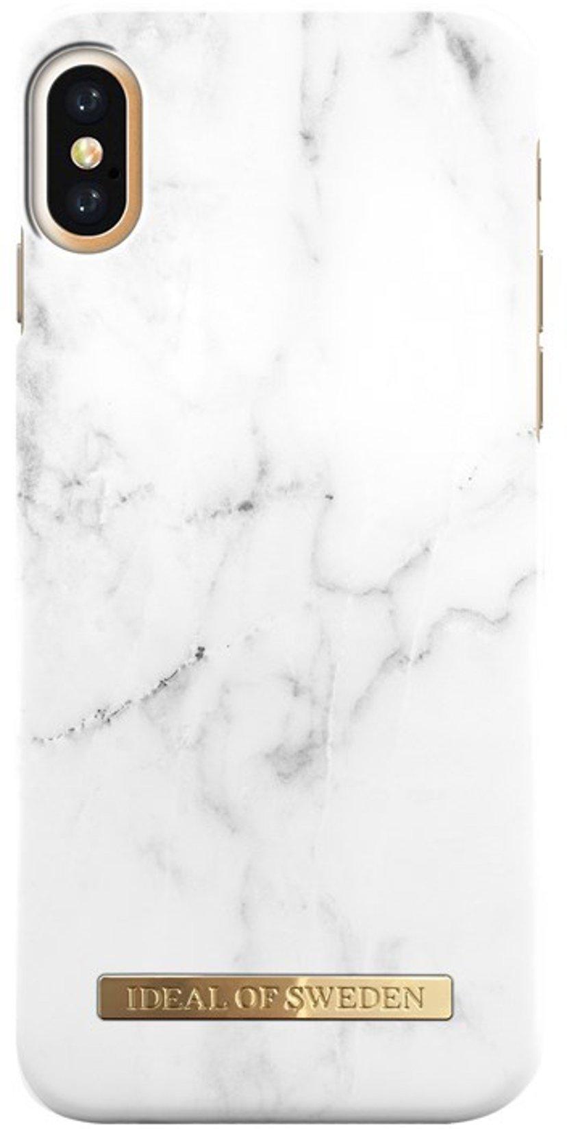 iDeal of Sweden Ideal Fashion Baksidedeksel For Mobiltelefon iPhone X; iPhone Xs Hvit marmor