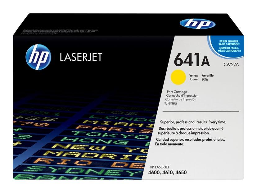 HP Värikasetti Keltainen - C9722A