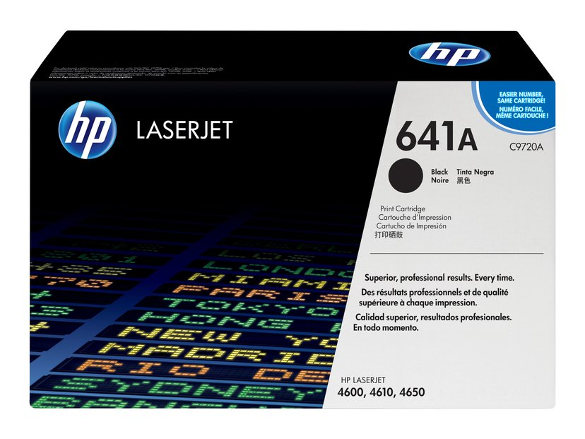 HP Toner Svart - CLJ 4600/4650
