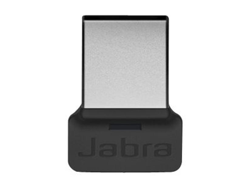 Jabra Evolve 65t + USB Dongle MS Grå, Sort
