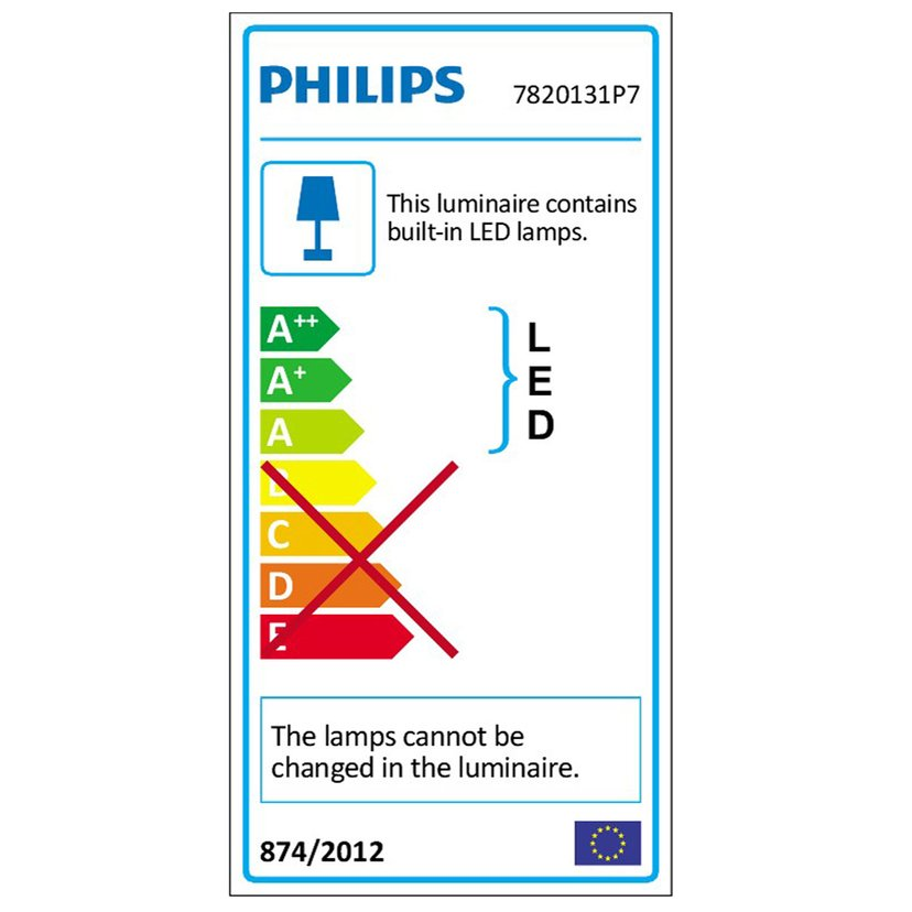 Philips Hue Play White Ambiance/Color Vit