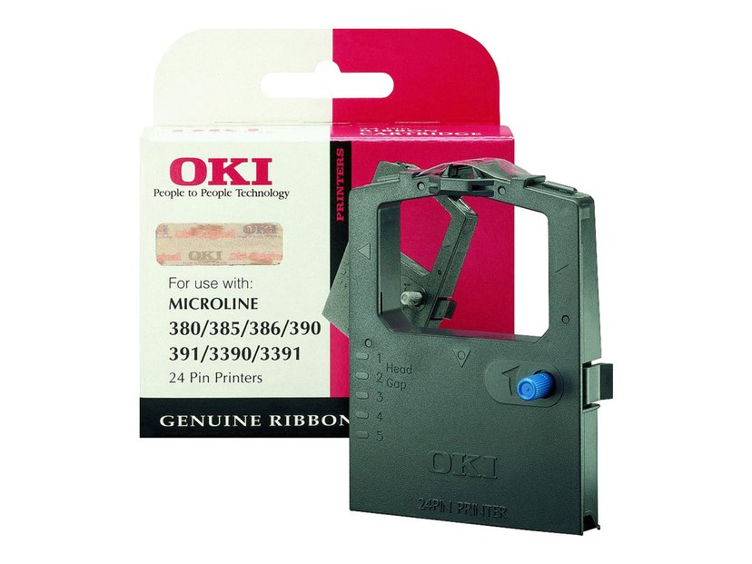 OKI Färgband Svart Microline 380/385/390E/391E/339