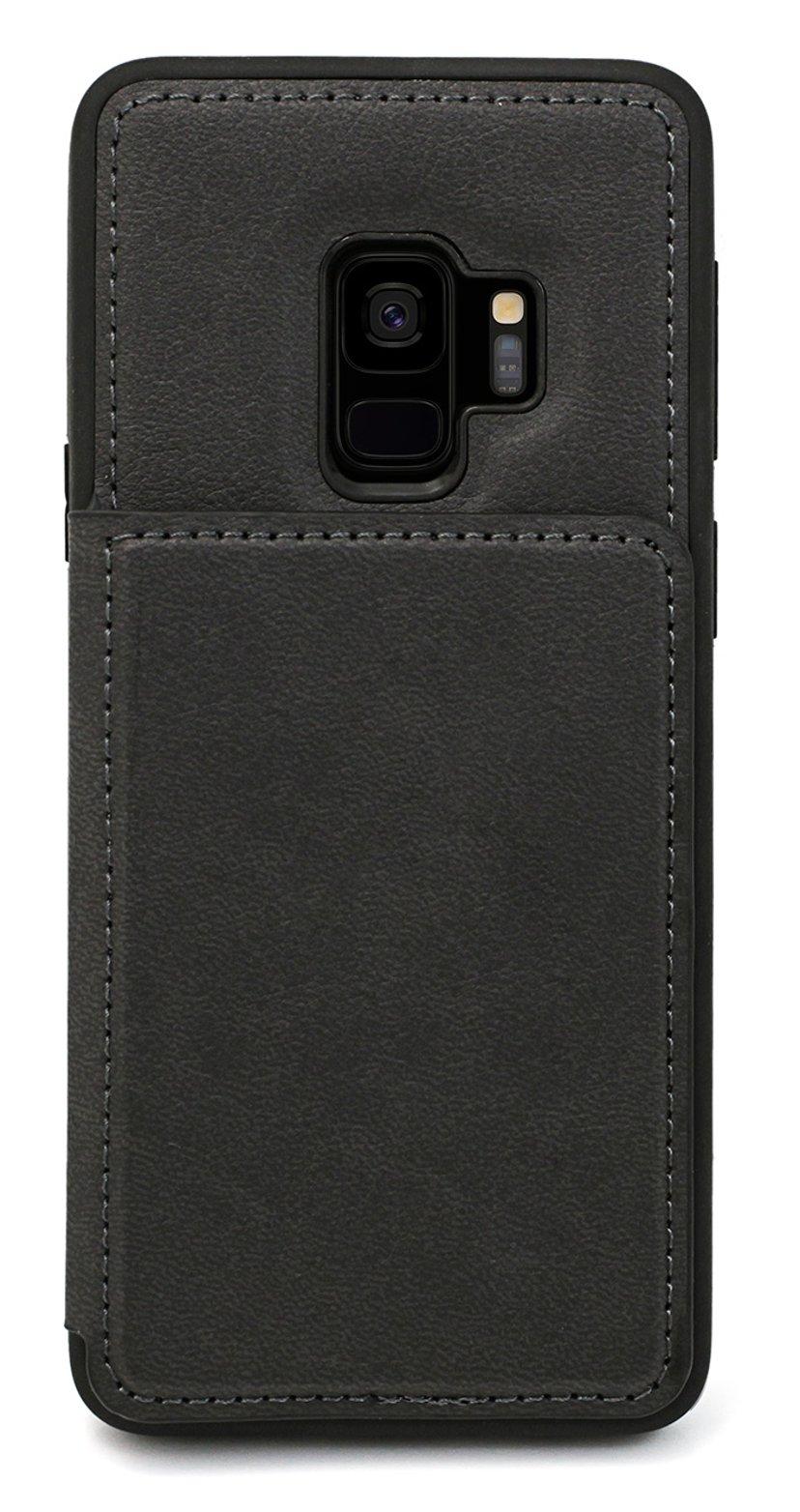 Cirafon Genuine Leather Flip Wallet Samsung Galaxy S9 Zwart