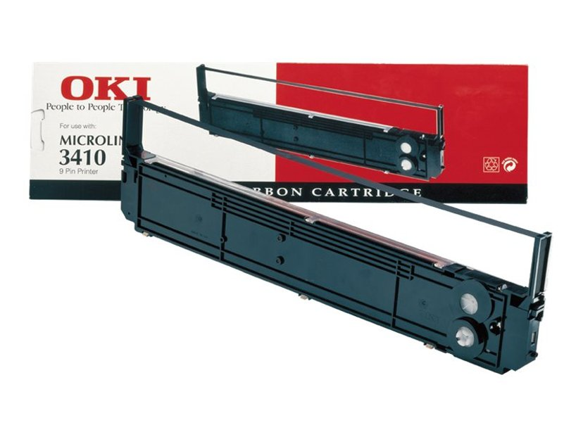 OKI Färgband Svart Microline 3410