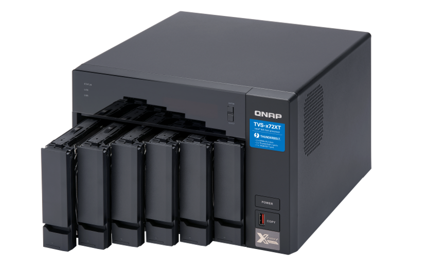 QNAP TVS-672XT 0TB NAS-server