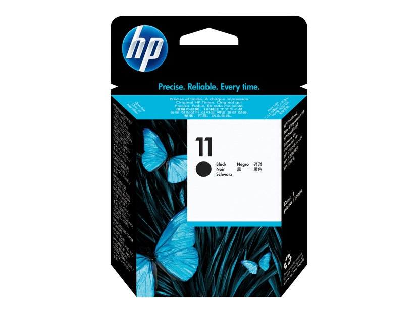 HP Printerhoved No.11 Sort, Bi2200/2600/Cp1700