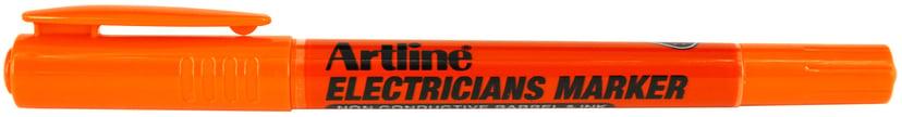 Artline Electricians Merkepenn Hvit 12-pk