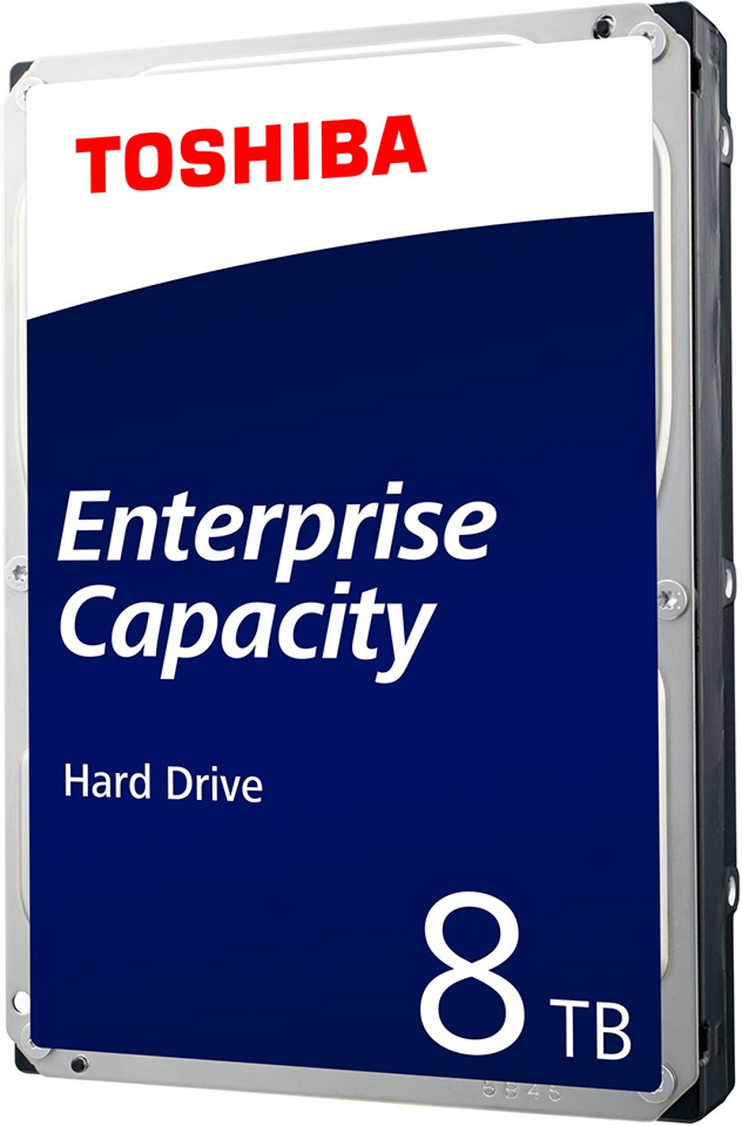 "Toshiba Enterprise Capacity 4KN 8TB 3.5"" Serial Attached SCSI 3"