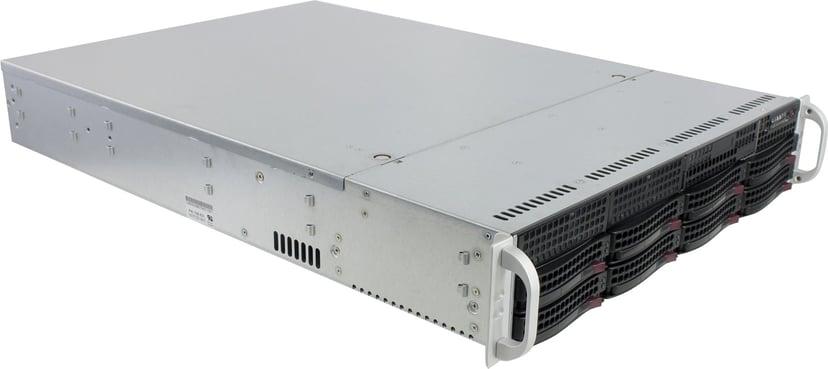 Supermicro SC825 TQC-R740LPB 740W Svart