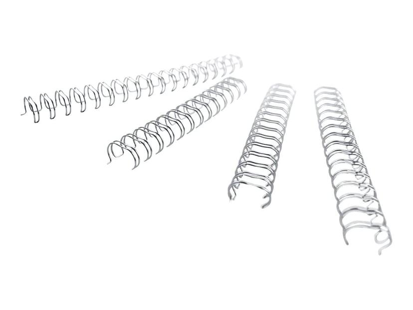 GBC Metallspiral 3:1 NO7 11mm A4 Silver 100st