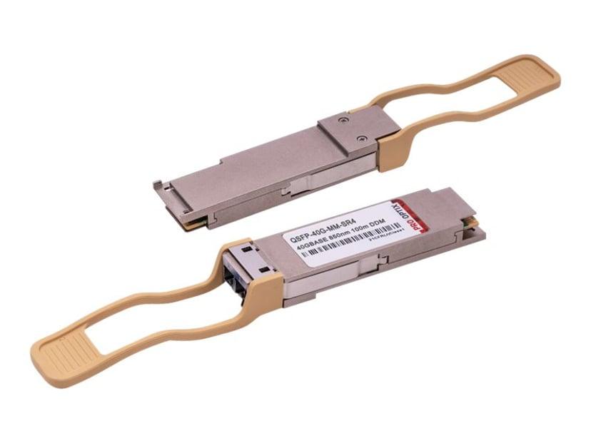 Pro Optix QSFP+ transceivermodul (tilsvarer: Cisco QSFP-40G-SR4) 40 Gigabit Ethernet