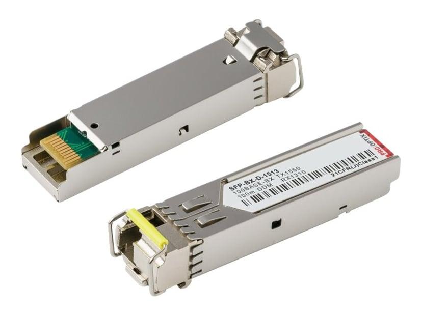 Pro Optix SFP (mini-GBIC) transceivermodul (tilsvarer: HP JD101A) Fast Ethernet
