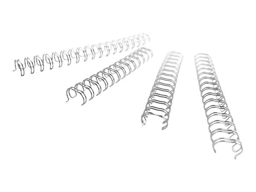 GBC Metallspiral 3:1 NO7 11mm A4 Svart 100 stk