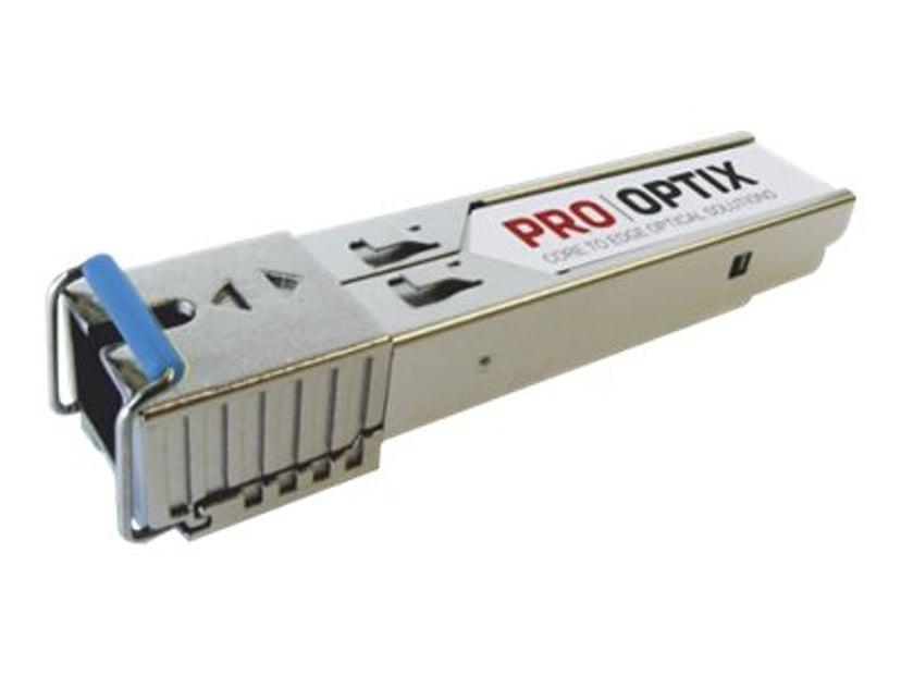 Pro Optix SFP-sändar/mottagarmodul (mini-GBIC) (likvärdigt med: Cisco GLC-BX-U-1315-20-SC) Gigabit Ethernet