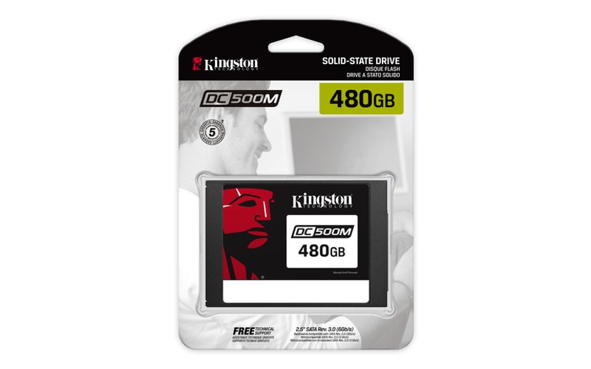 "Kingston Data Center DC500M 480GB 2.5"" Serial ATA-600"