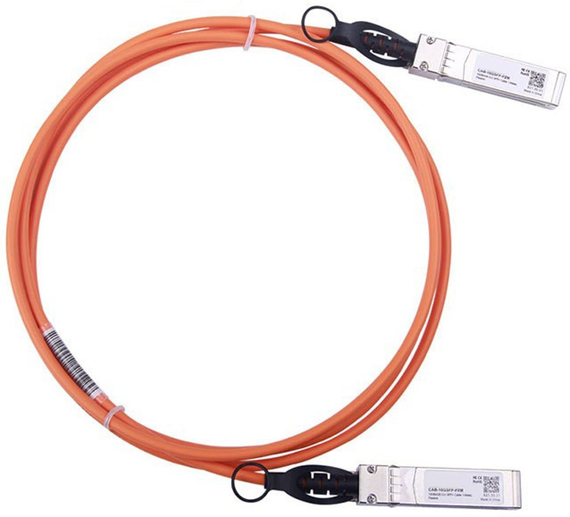 Direktronik DAC SFP+ Orange 2M 10 Gigabit Ethernet