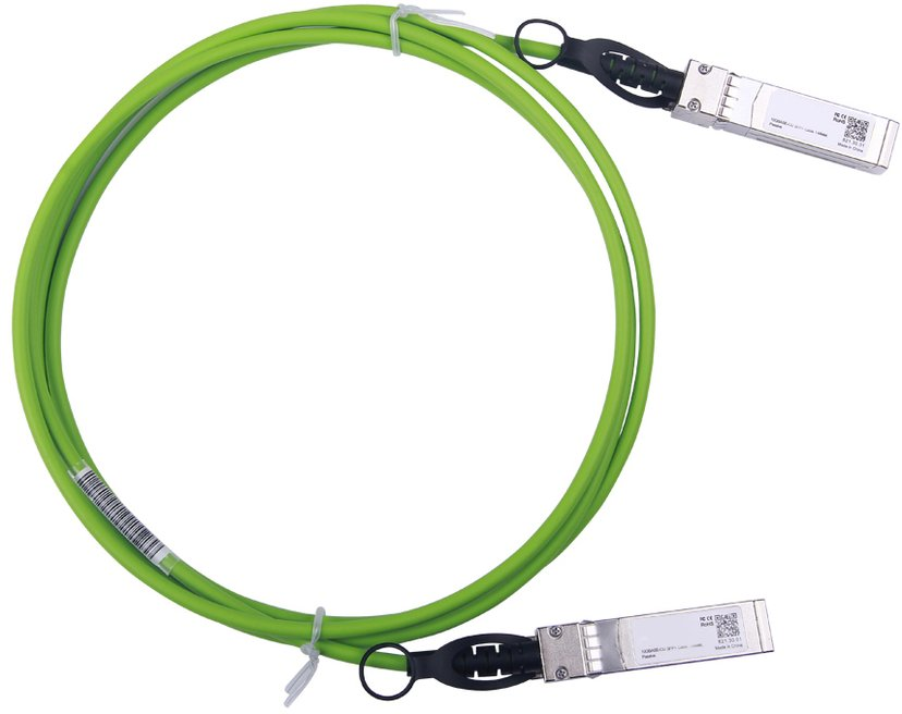 Direktronik DAC SFP+ Grön 2M 10 Gigabit Ethernet