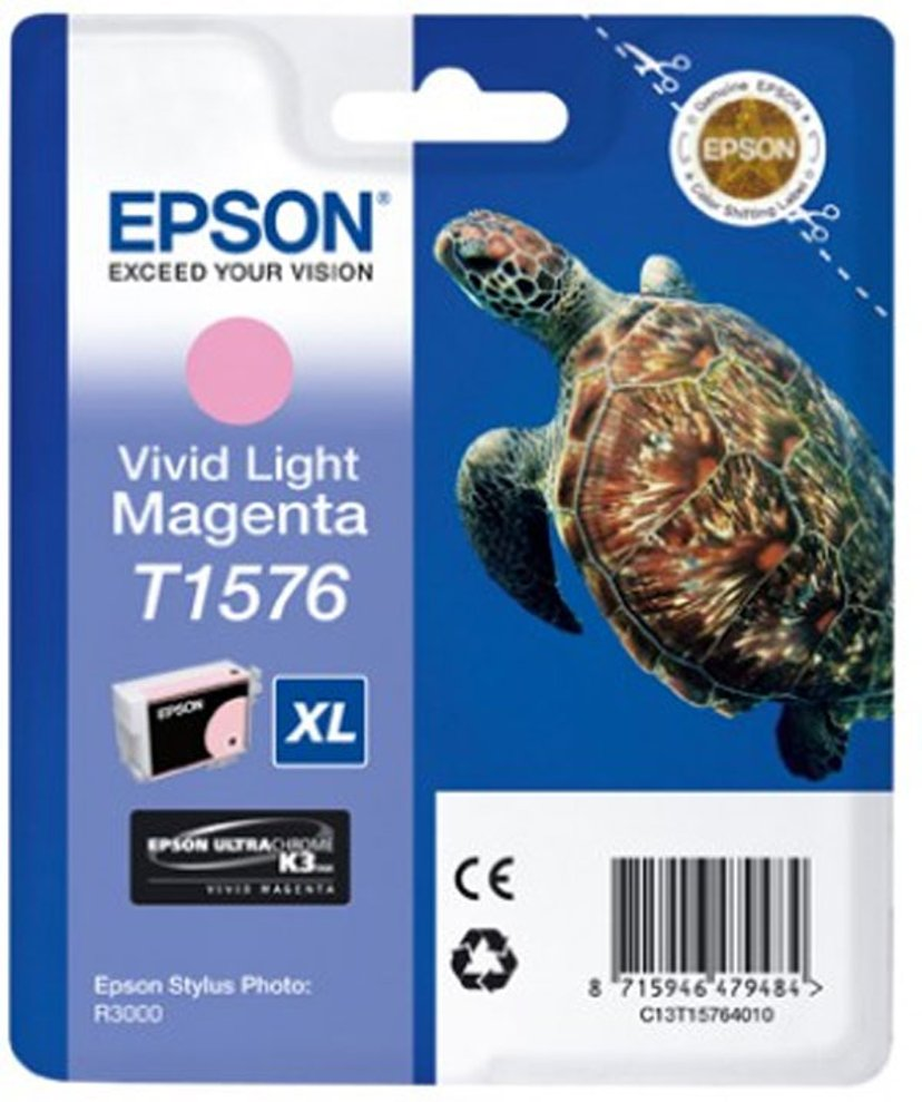Epson Blekk Vivid Ljus Magenta - STYLUS Foto R3000