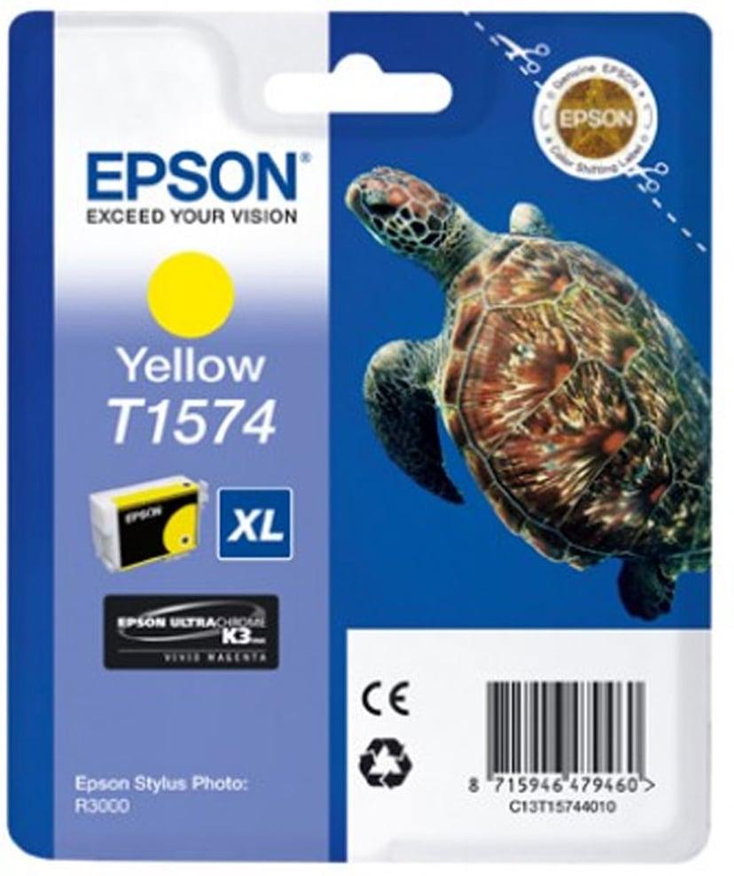 Epson Muste Keltainen - STYLUS Kuva R3000