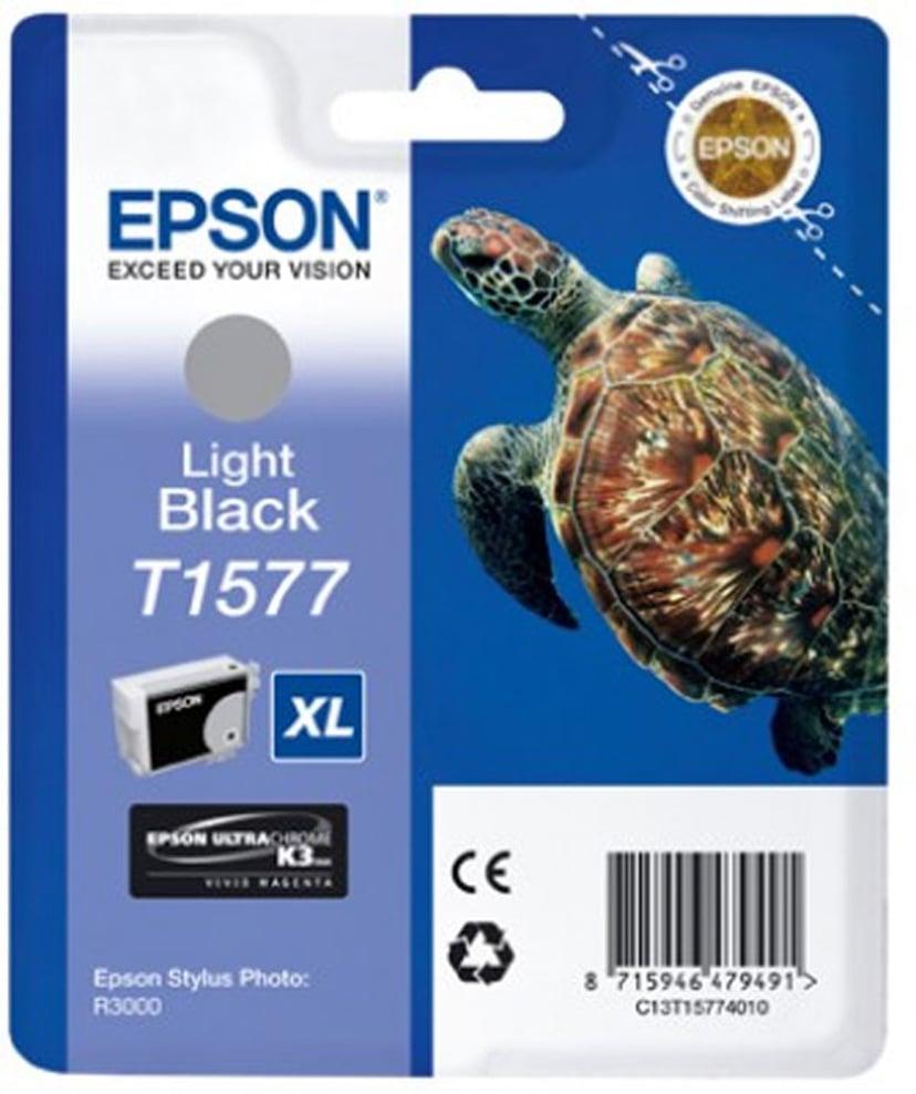 Epson Muste Kevyt Musta - STYLUS Kuva R3000