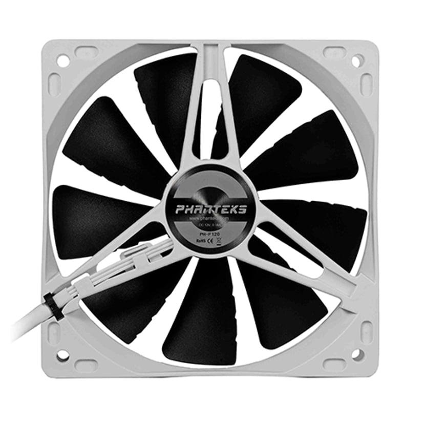 Phanteks Ph-F120s-BK Premium Case Fan - White/Black 120mm 120 mm