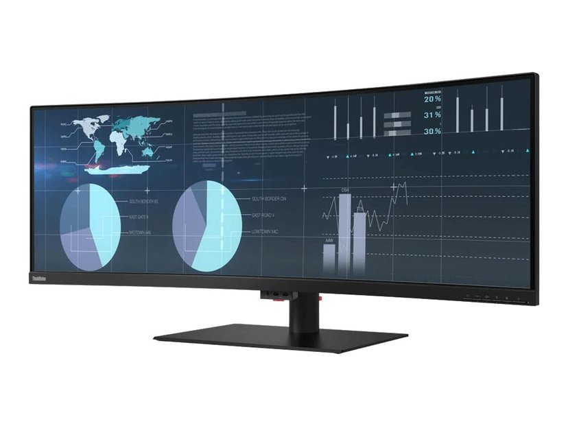 "Lenovo Thinkvision P44w-10 43.4"" 3840 x 1200 32:10"