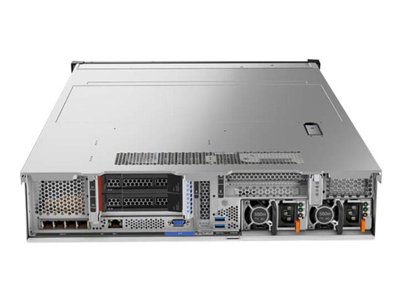 Lenovo ThinkSystem SR650 7X06 Xeon Silver Med 8 kärnor 16GB
