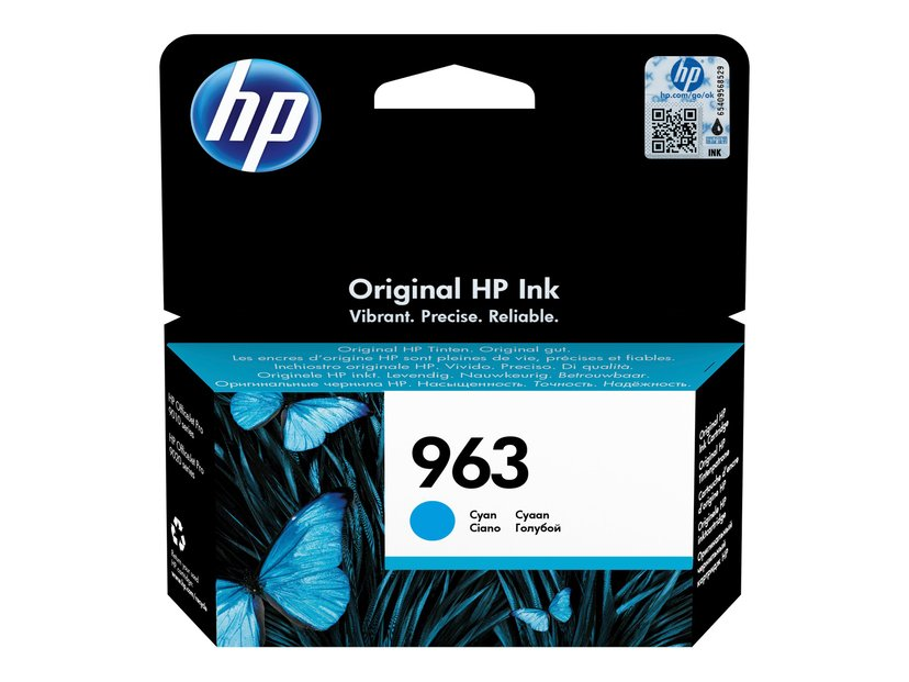 HP Bläck Cyan No.963 700 Pages - OfficeJet Pro 9010
